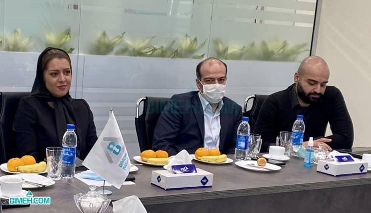 تاکید مدیرعامل بیمه دات کام بر اهمیت محصولات بیمه ای نوین نظیر بیمه عمر در نشست با شرکت بیمه زندگی خاورمیانه