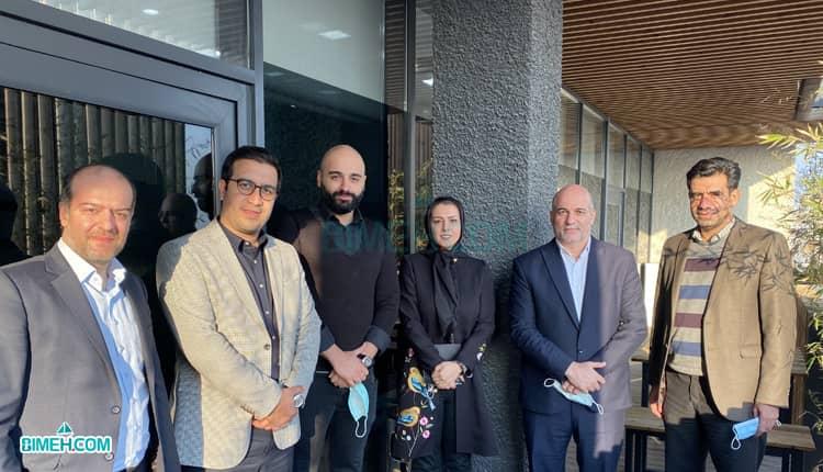 بازدید مدیران بیمه زندگی خاورمیانه از بیمه دات کام