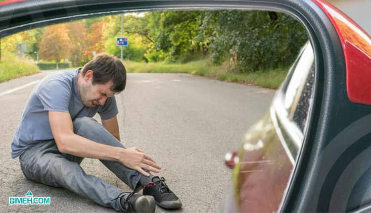 شخص آسیب دیده جانی در تصادفات رانندگی