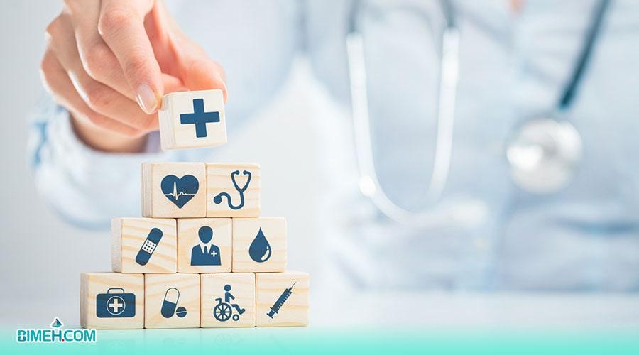 خدمات متنوع بیمه تکمیلی درمان