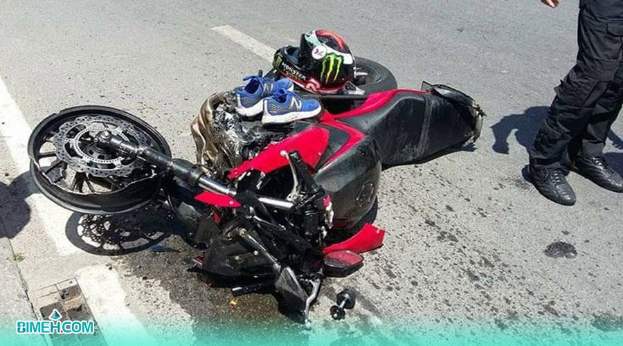 تصادفات موتور